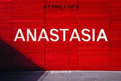 ANASTASIA, A modern typeface Product Image 1