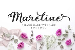 Mareline Script Font Duo Product Image 1