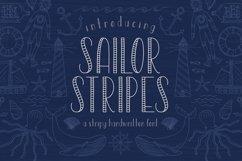 Sailor Stripes San Serif Font Product Image 1