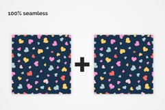 Loving Hearts Seamless Patterns Product Image 5