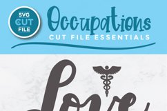 Nurse practitioner svg file for crafters - an np svg Product Image 2