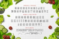 Web Font Green Long Product Image 3