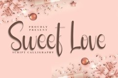Sweet Love - Script Calligraphy Font Product Image 1