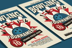 Bowling Tournament Flyer Product Image 3