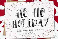 Ho-Ho-Holiday Fonts collection Product Image 1