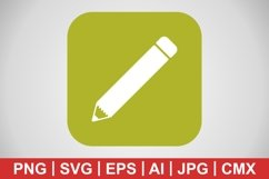 Vector Pencil Icon Product Image 1