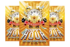 Happy Hour Poster Template Product Image 1