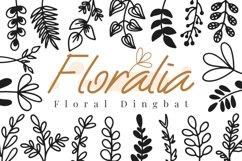 Floralia Floral Dingbat font Product Image 1