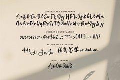 Web Font Rafella - Brush Script Font Product Image 5