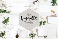 The White Rose Mockups Bundle Product Image 1
