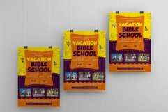Vacation Bible School A4 Flyer PSD Template Product Image 3