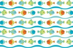 Sea Animal Clipart and Digital Papers Set Product Image 5
