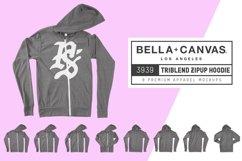 Bella Canvas 3939 Zip-Up Hoodie Product Image 1