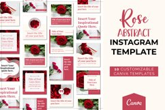 Rose Abstract Instagram Canva Template Product Image 4