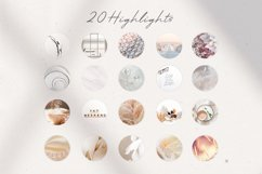 20 Instagram universal elegant Highlight Covers for Stories Product Image 1