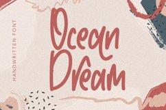 Ocean Dream - Handwritten Monoline Fonts Product Image 1