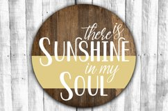 Round Sign Bundle - Round SVG Files - Farmhouse Signs Product Image 7