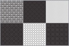 Set of seamless ornaments Product Image 6