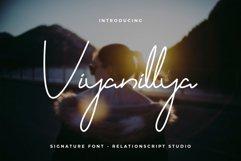 Viyanillya Signature Font Product Image 1
