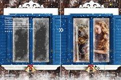 Window Frames Overlays Christmas Freeze Holiday photoshop Product Image 2