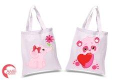 Happy Valentine clipart, Valentine jungle clipart, graphics illustrations AMB-1577 Product Image 4