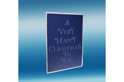 Silent night pop up card Product Image 2