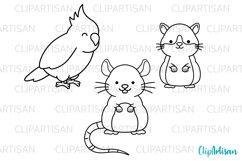 Pets Clipart, Pet Shop Digital Stamps, PNG SVG Product Image 2