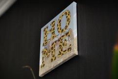 Leopard Fur Alphabet Sailors Diary Product Image 7