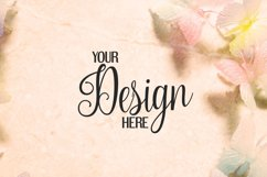 Butterfly on marble background photo   Flat mock up bundle Product Image 5