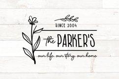 Vol 2 - Family Monogram Sign Bundle Floral Product Image 9