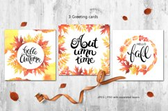 Hello Autumn watercolor collection Product Image 5