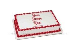 Sheet Cake Mockup Bundle, Edible Cake Print Mock Up Display Product Image 5
