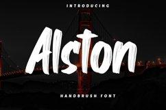 Alston - Handbrush Font Product Image 1