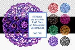 Mandala Printable Transparent Background, Sublimation PNG, Product Image 4