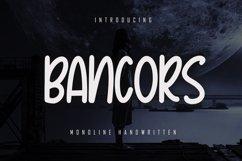 Bancors - Monoline Font Product Image 1