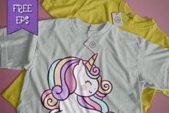 Girly Unicorn font Handwritten- cute kid font Kawaii style Product Image 3