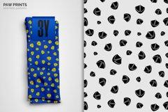 Paw Prints Seamless Patterns Product Image 6