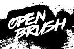 OPENBRUSH TYPEFACE Product Image 1
