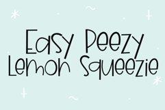 Blueberry Lemonade - A Fun Handwritten Font Product Image 5