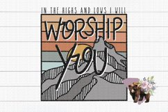 Worship You PNG File / Sublimation Clipart File Product Image 1