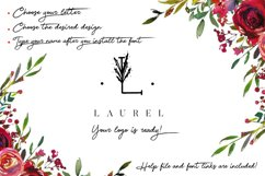 MINIMAL FLORAL LETTER AND LOGO KIT Product Image 4