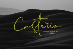 Casterio Signature Font Product Image 1