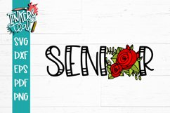 Senior Rose 2020 SVG Product Image 2