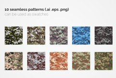 France Pixel Camouflage Patterns Product Image 2