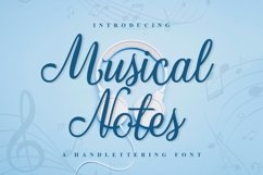 Web Font Musical Notes Product Image 1