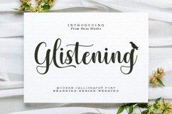 Glistening Script Product Image 1