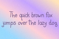 Cute Blunder- quirky hand-drawn font Product Image 3