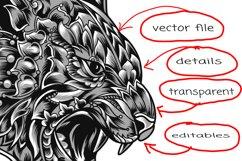 Svg tiger mandala Product Image 3