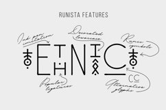 Runista - Thin Line Geometric Font Product Image 5