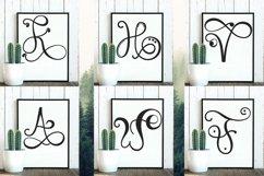 Monogram Handwriting font family Product Image 3